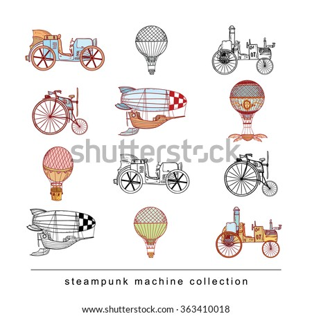 steampunk collection  hand