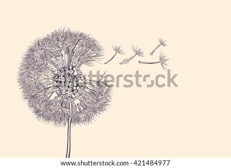 steampunk dandelion