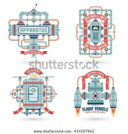steampunk logos steampunk