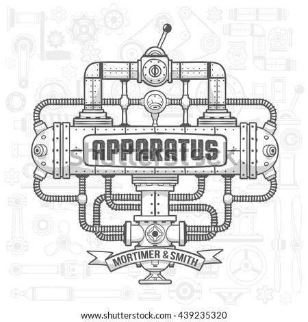 steampunk machinery engineer