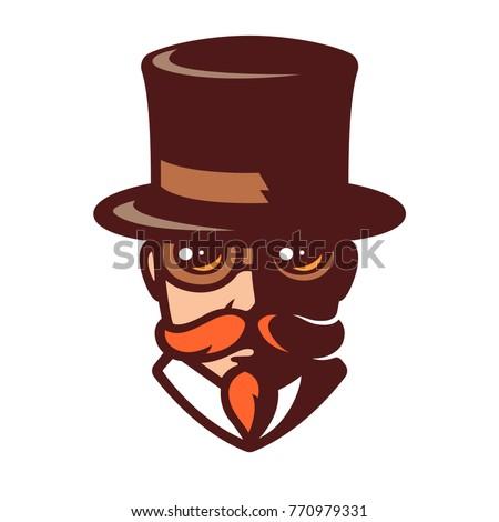 steampunk man portrait in...