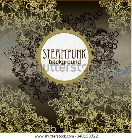 steampunk style template
