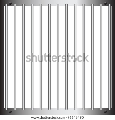steel bars of prison bars
