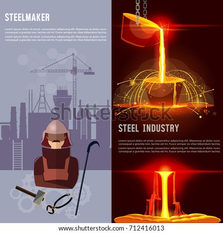 steel industry banner