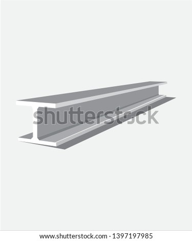 Steel plate vector, steel, industrial steel, steel beam