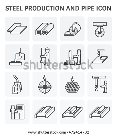 steel production and pipe