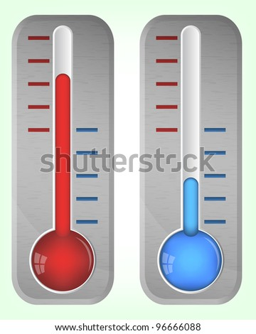 Steel thermometers, 10eps.