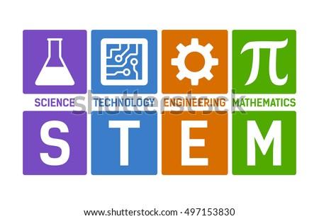 stem   science  technology ...