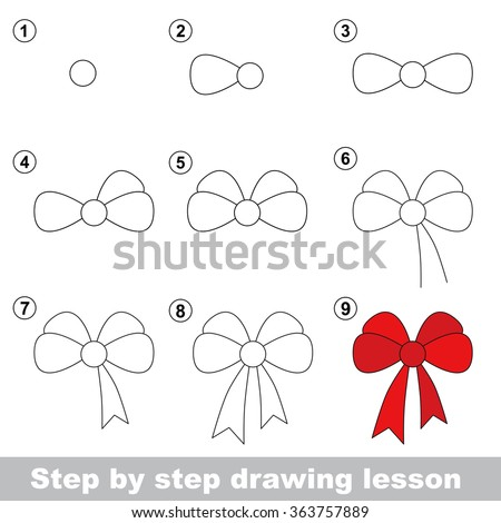 how to draw hair easy step by step