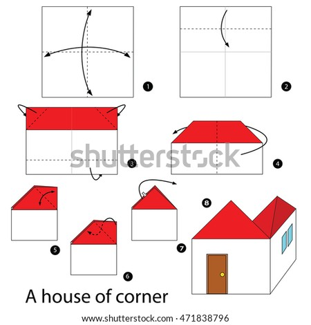 How To Make An Origami House Step By Step 28 Images