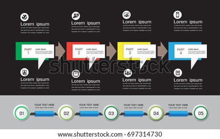 steps infographics ,Business concept, workflow layout