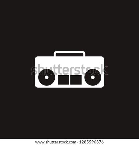 stereo icon. stereo vector design. sign design