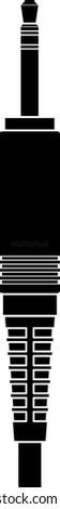 stereo plug symbol