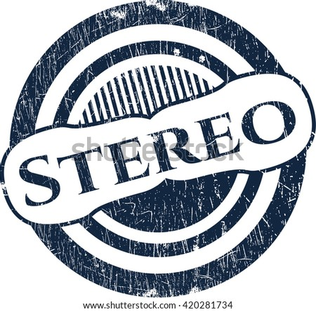 Stereo rubber texture