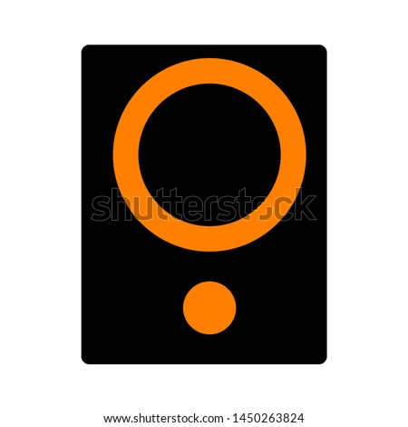 stereo speakers icon. Logo element illustration. stereo speakers design. colored collection. stereo speakers concept. Can be used in web and mobile