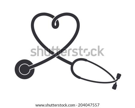 free stethoscope vector