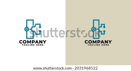 stethoscope logo design forming the letter k. logo is suitable for healthcare industry. Stock fotó ©