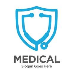 Stethoscope Medical Logo