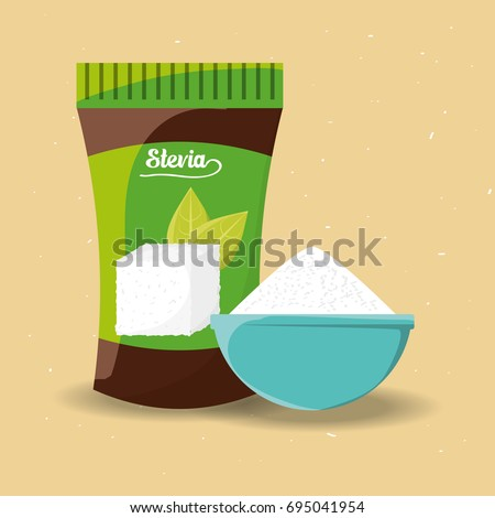 stevia natural sweetener packet product