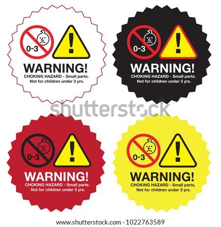 Top Hazard Stickers Vectors - Download Free Vector Art, Stock Graphics  XE08