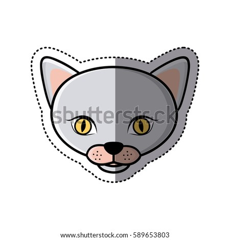 sticker grey shading picture