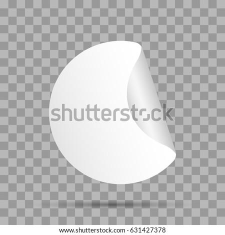 Sticker, icon. Vector illustration