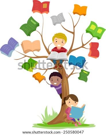 stickman illustration of kids