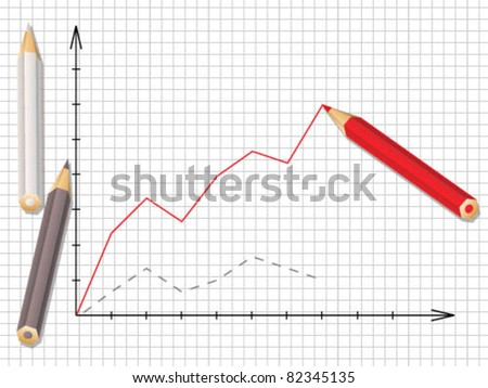 Stock graph of progress