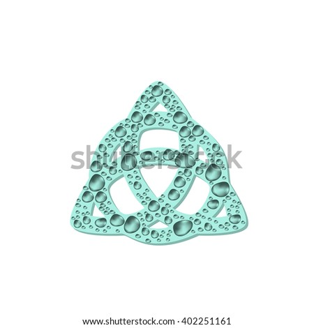 stock mandala  triangle with