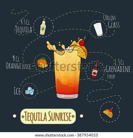 stock popular alcoholic