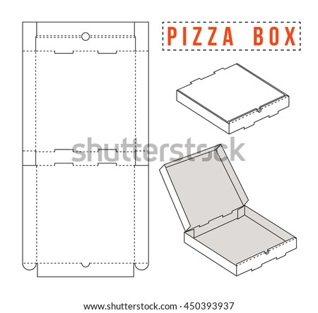 3d packaging box vector templates for your design download free stock vector box for pizza unwrapped and 3d image maxwellsz