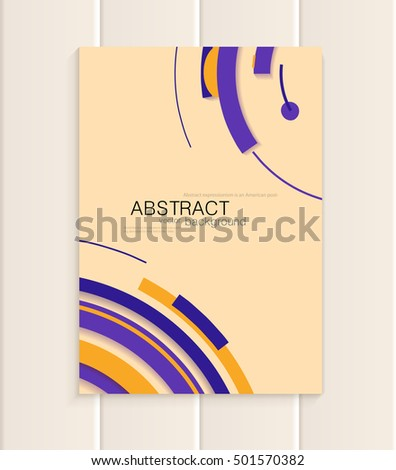 stock-vector-stock-vector-brochure-in-abstract-style-design-business-templates-with-brown-yellow-purple
