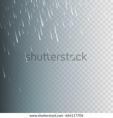 stock vector illustration rain