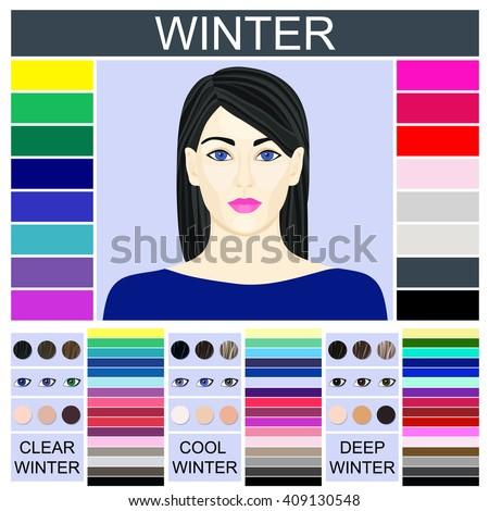 stock vector seasonal color