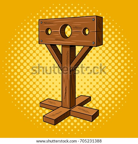 stocks medieval instrument of