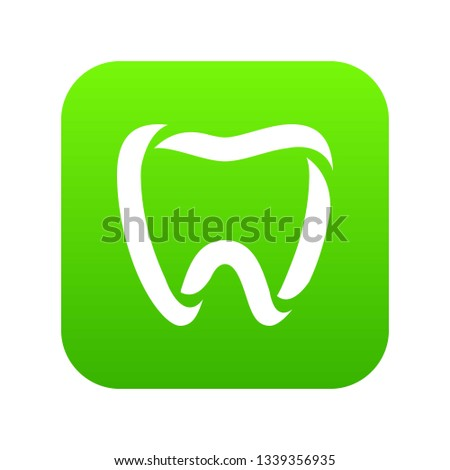 Stomatology icon. Simple illustration of stomatology vector icon for web