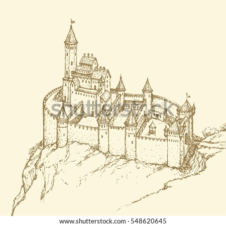stone archaic romanesque fort