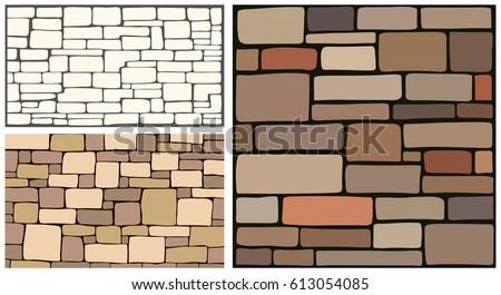Stone texture, brick background texture