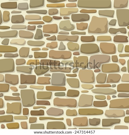 stone wall endless texture