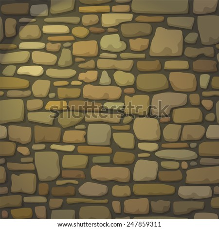 stone wall lamplight web page