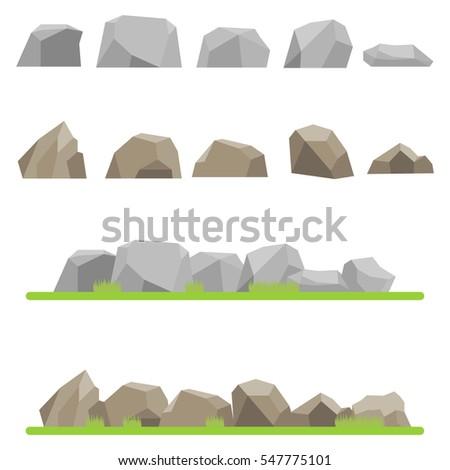 stones  set stones  mountains