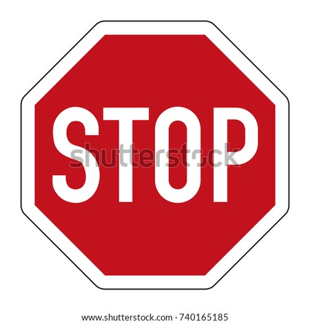 stop and give way   regulatory