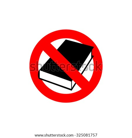 stop  book it is forbidden to
