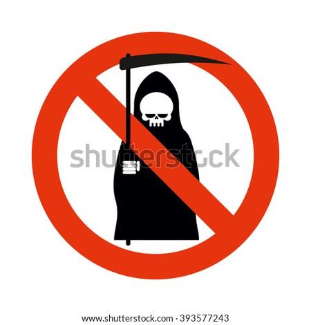 stop death grim reaper is