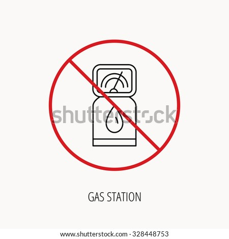 K Gas Station Logos stock-vector-stop-or-ban-sign-gas-station-icon-petrol-fuel-pump-sign ...