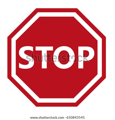Stop Sign #650843545