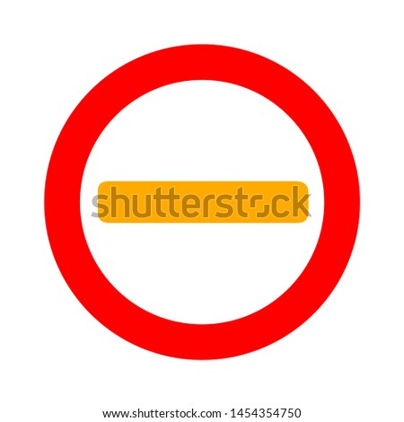 Stop sign. flat illustration of Stop. vector icon. Stop sign symbol