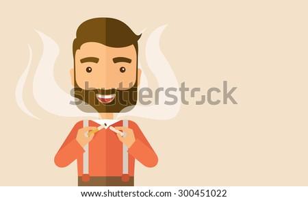 stop smoking  human hands