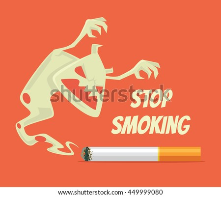stop smoking nicotine monster