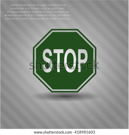 Stop symbol